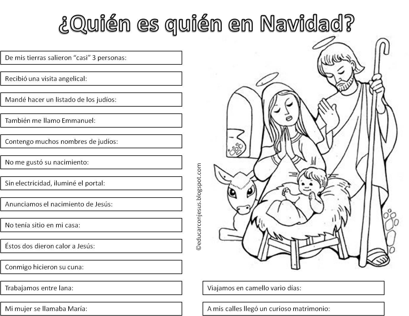 Resultado de imagen de actividades de adviento para niños