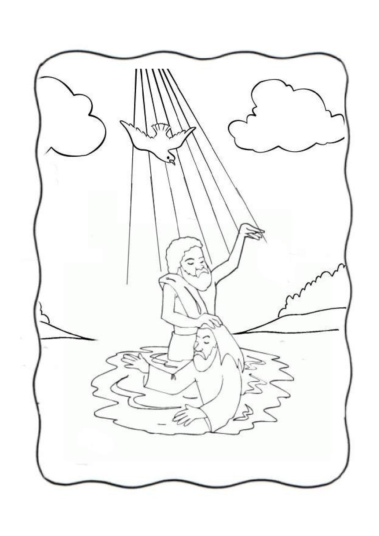 San Juan Bautista Para Colorear San Joan Bataiatzailearen